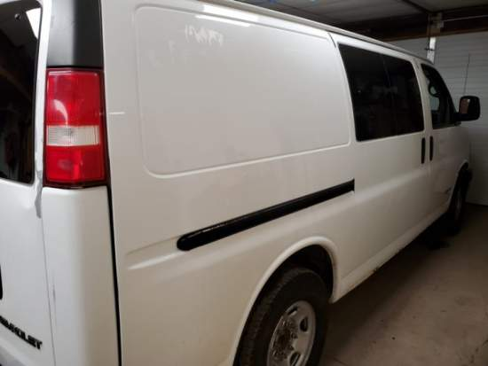 2004 Chevy Express 2500 and 2009 Blueline Thermal