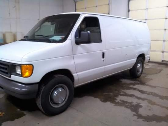 Used Carpet Cleaning Van