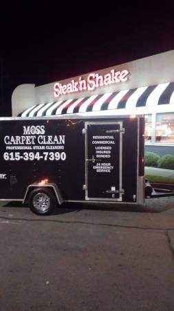 Carpet Cleaning Trailer and Equipment