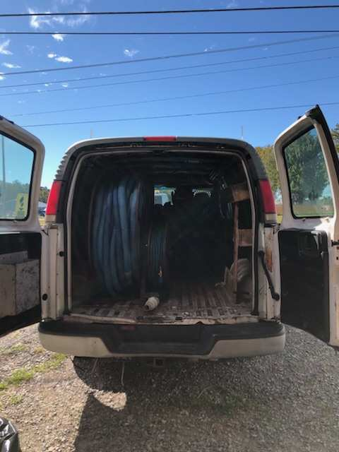 1999 Chevy Van With Truck Mount : Used Carpet Cleaning Vans