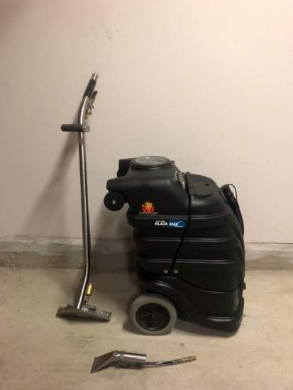 Like New Powr-Flite BlackMax Carpet Extractor/Mach